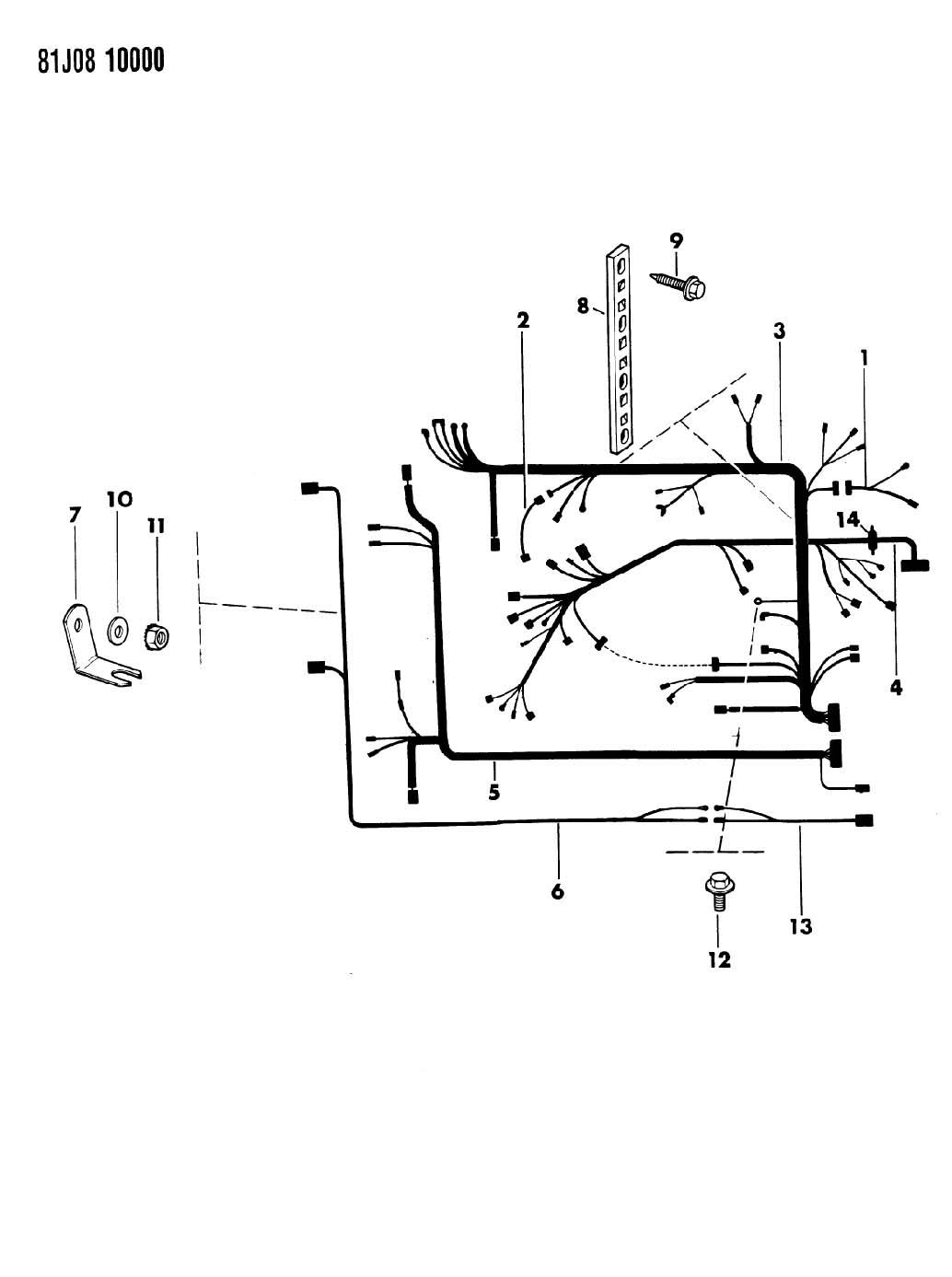 jeep j20 wiring harness  jeep  auto wiring diagram