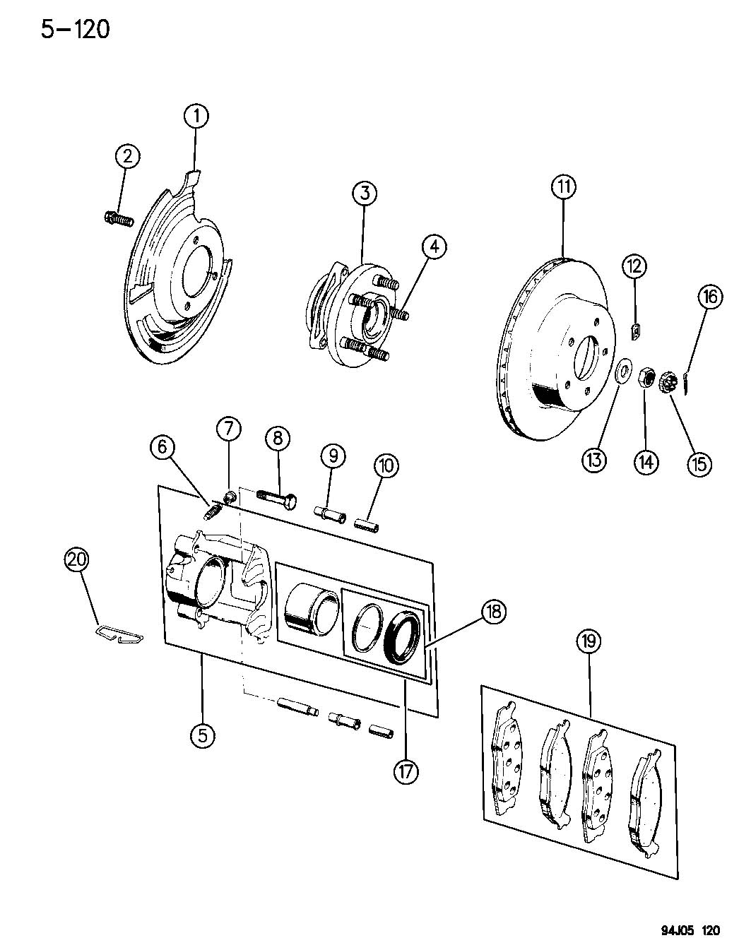 1994 Jeep Grand Cherokee Rear Brake Diagram Best Secret Wiring Drum Brakes Front 1997 96 Diagrams