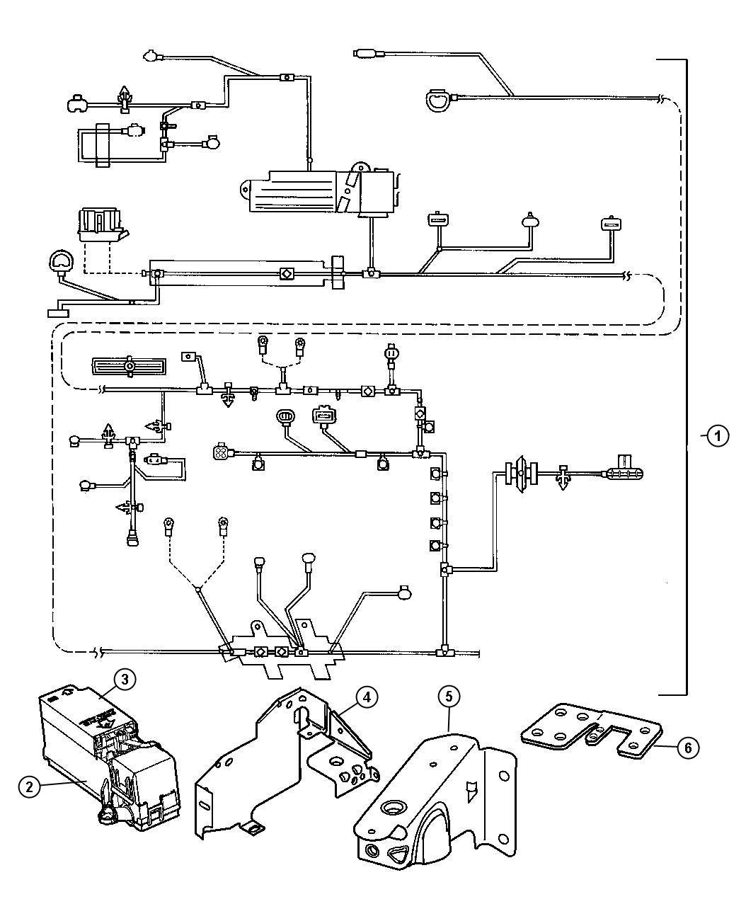 2000 chrysler cirrus wiring