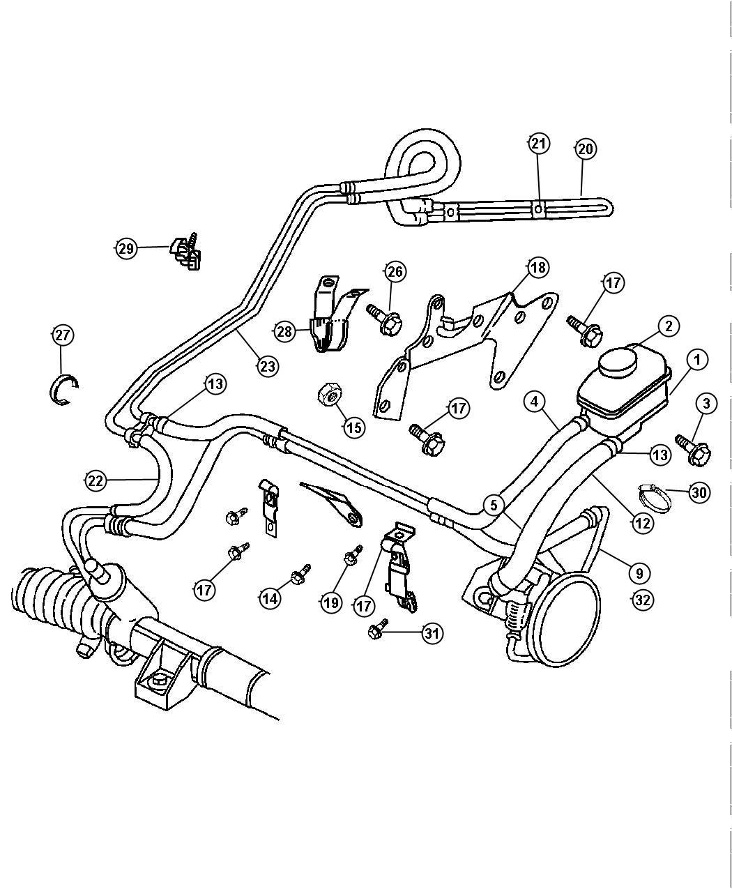 v6 24 valve dohc engine