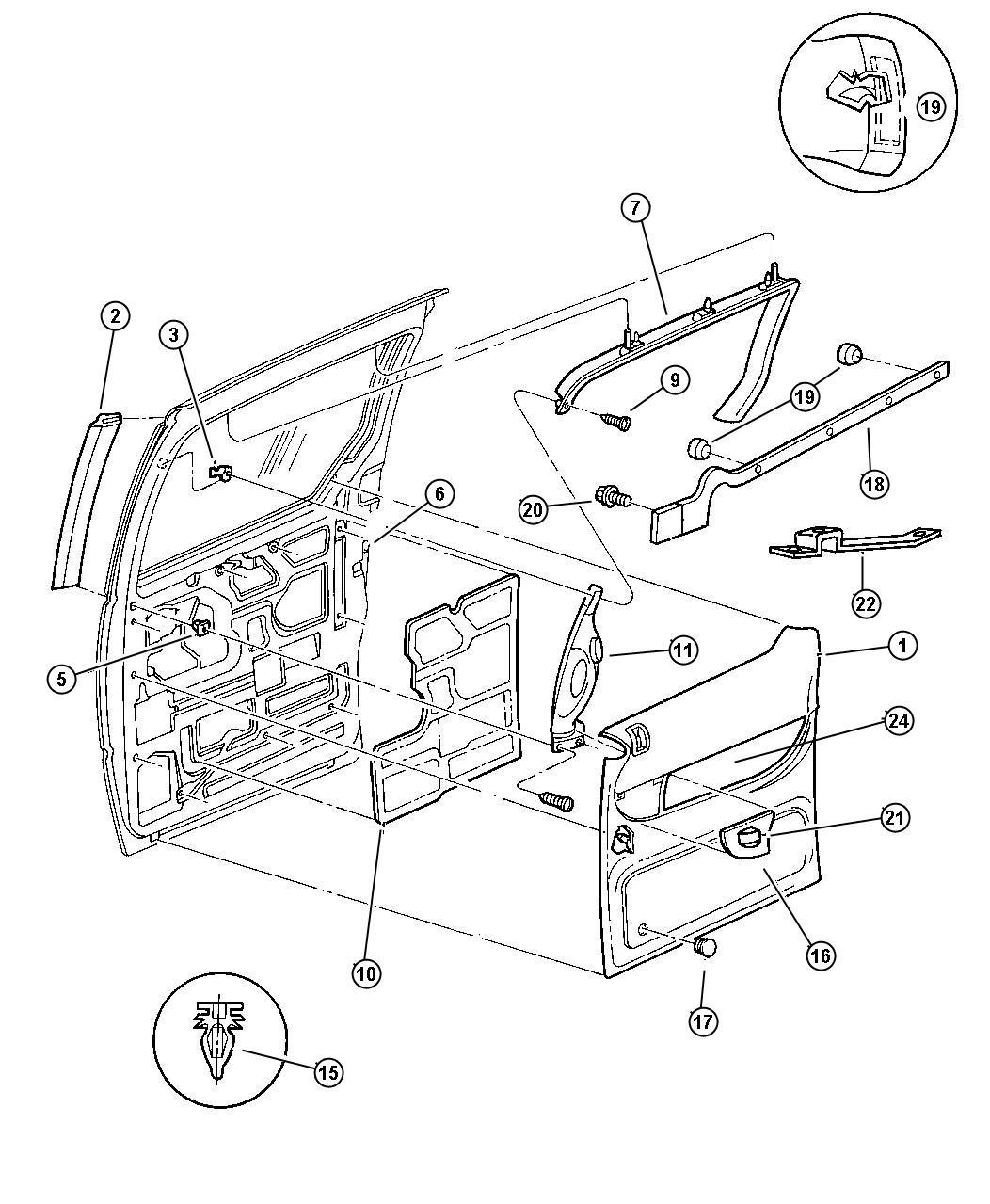 diagram jeep grand cherokee rear exterior