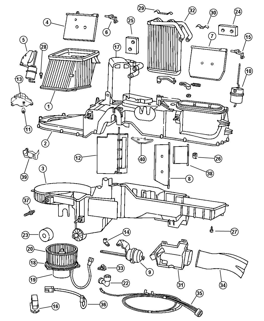 1997 Dodge Ram 3500 Parts Diagram
