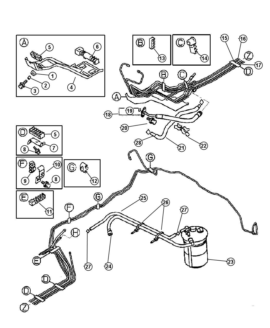 service manual  how to unblock fuel line inside 2001