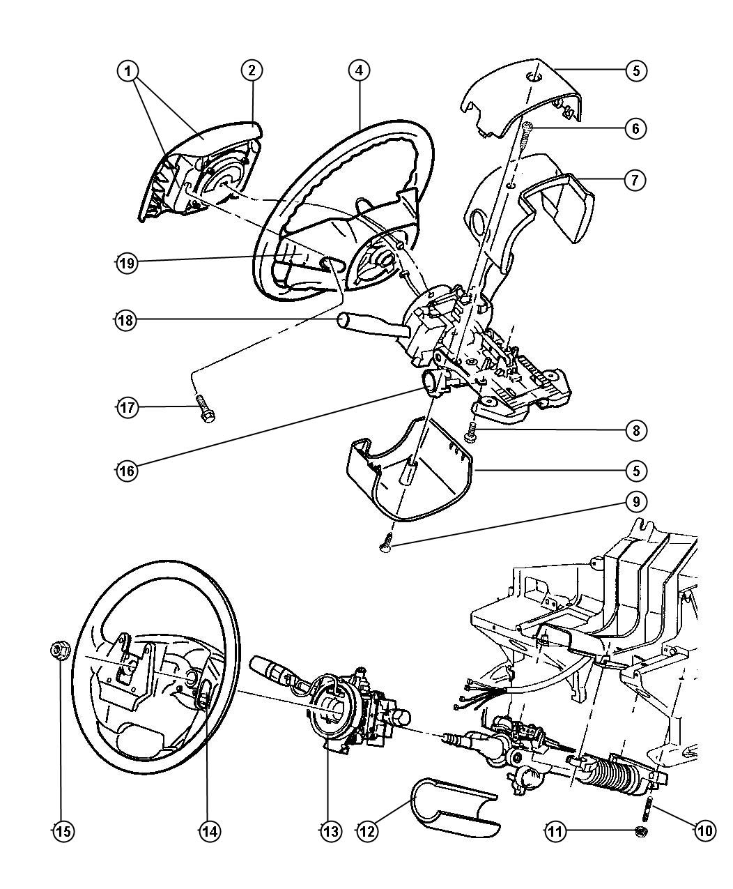 2000 Jeep Grand Cherokee Steering Colum Wiring Diagram 2001 Hot Engine For 1999 1998