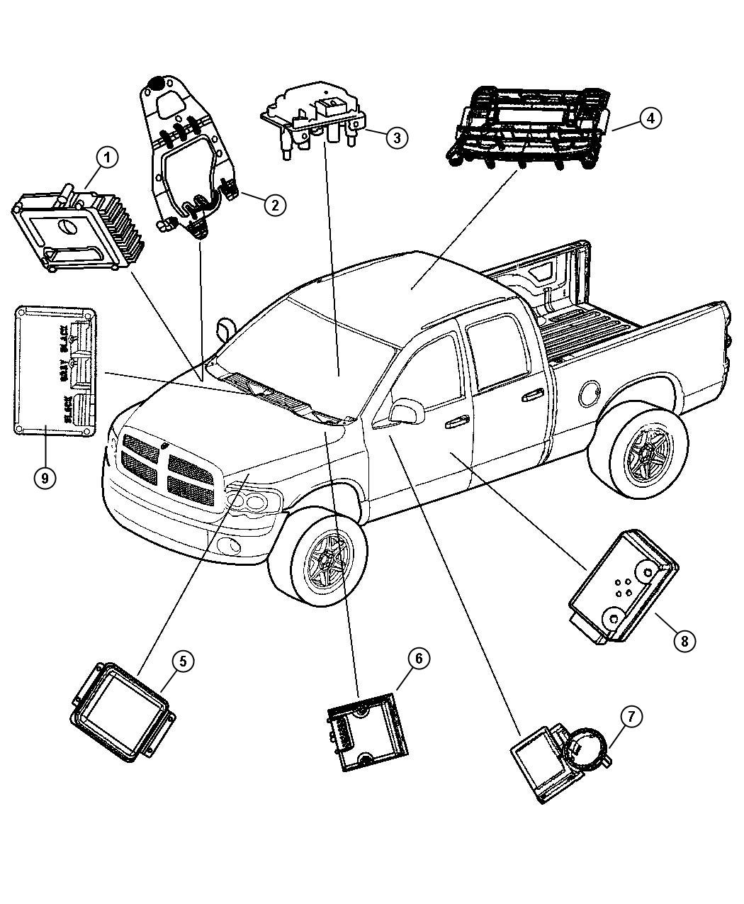 keyless entry module location within diagram wiring and engine