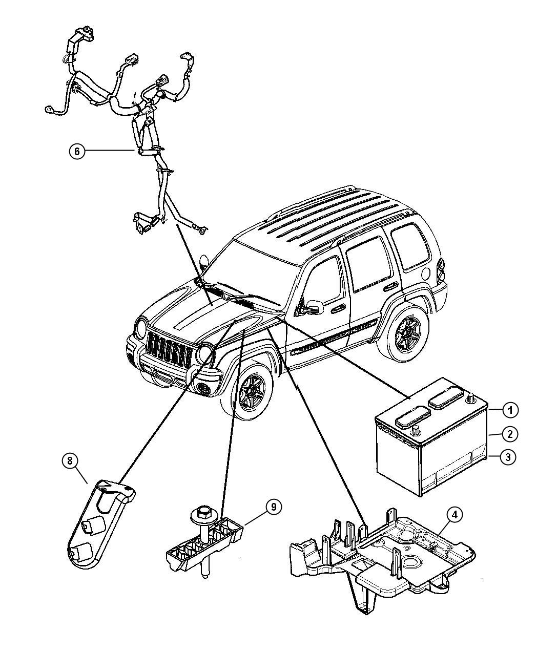 2002 Jeep Liberty Alternator Wiring Diagram Best Secret Schematic Free Engine Image Harness