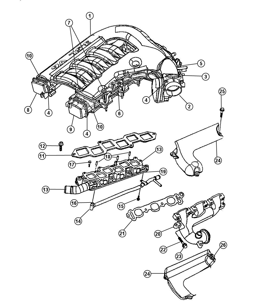 Chrysler engine diagram get free image