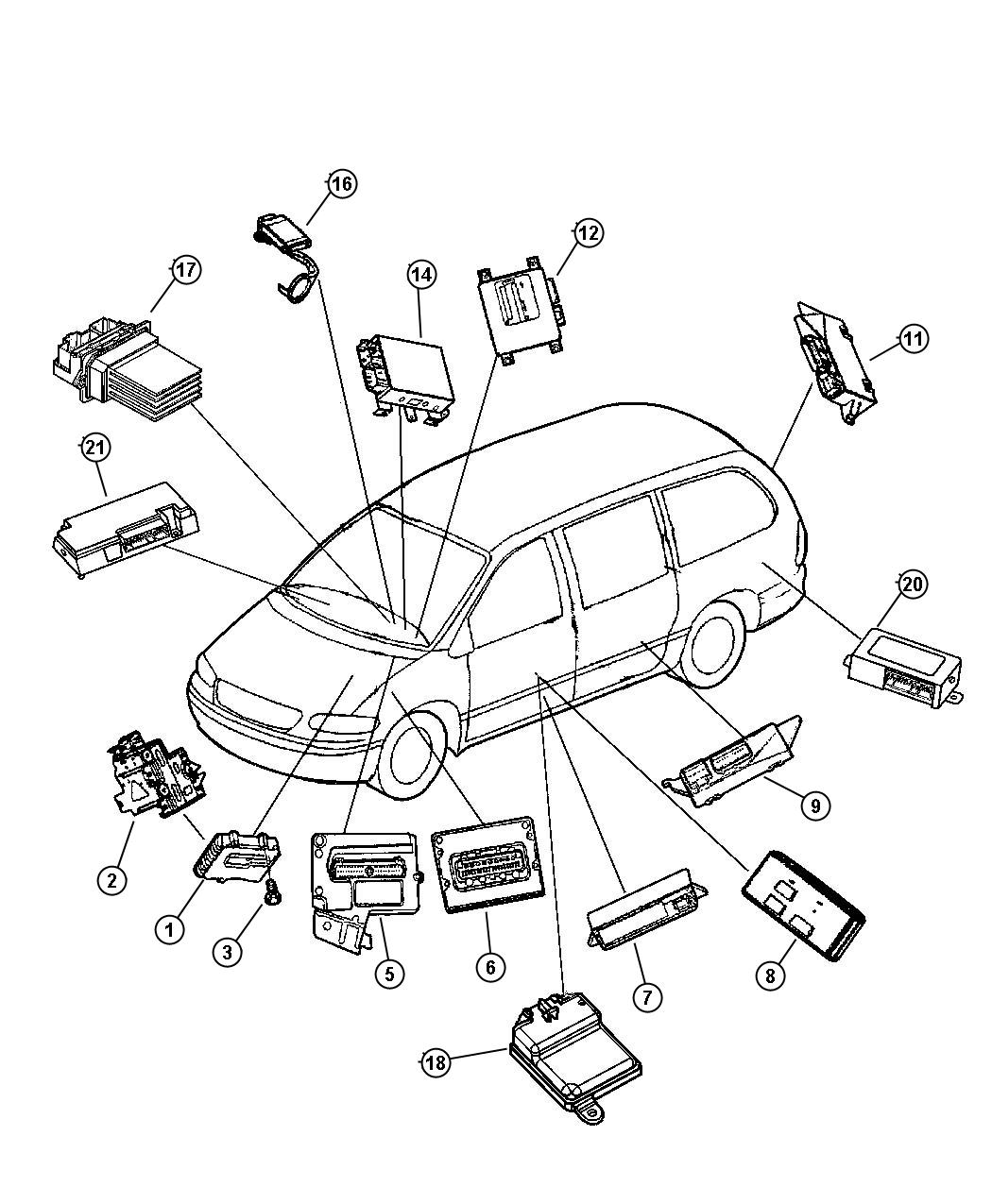 2005 Dodge Grand Caravan Wiring Harness Library Diagram For 2003 Suspension