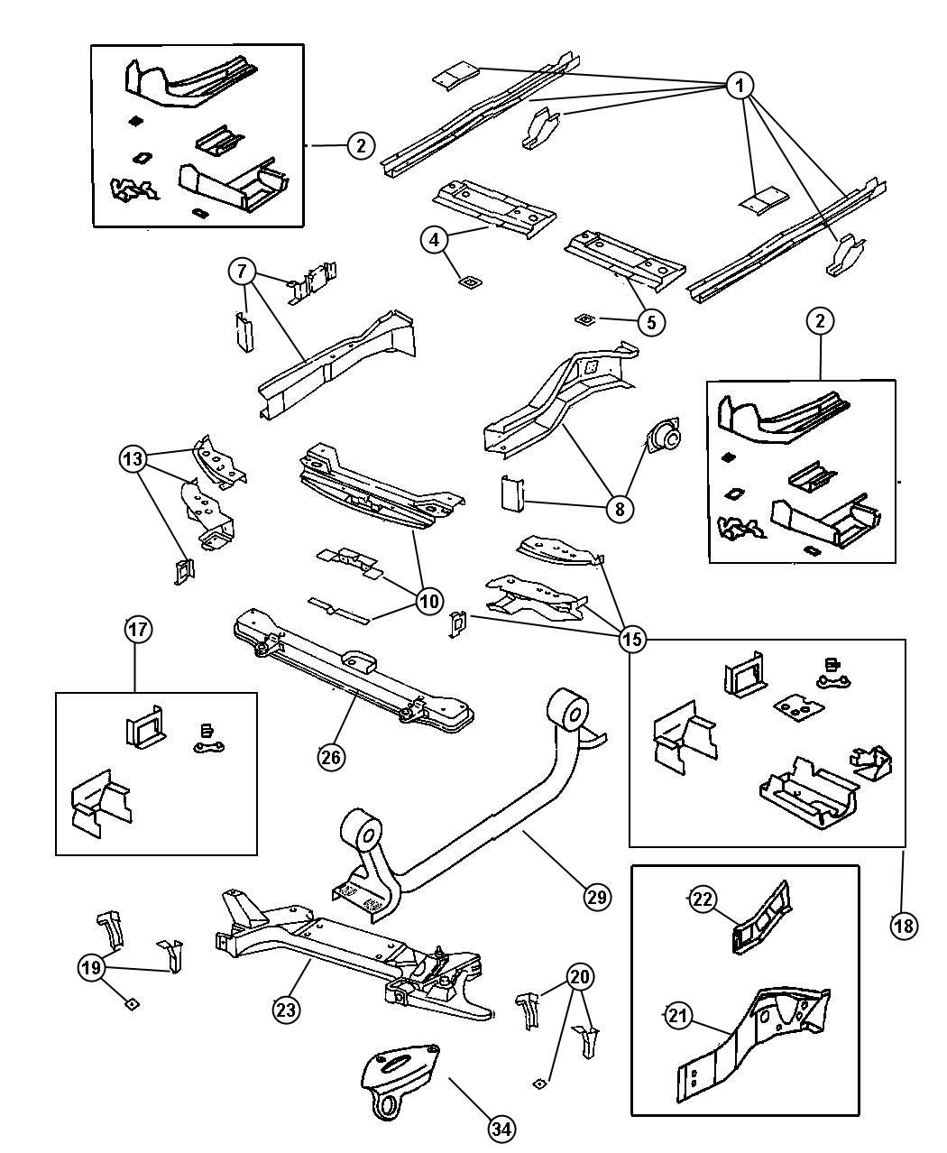 1999 plymouth breeze front suspension diagram  plymouth