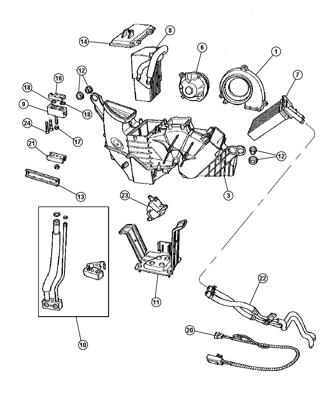 1998 plymouth voyager cooling system diagram