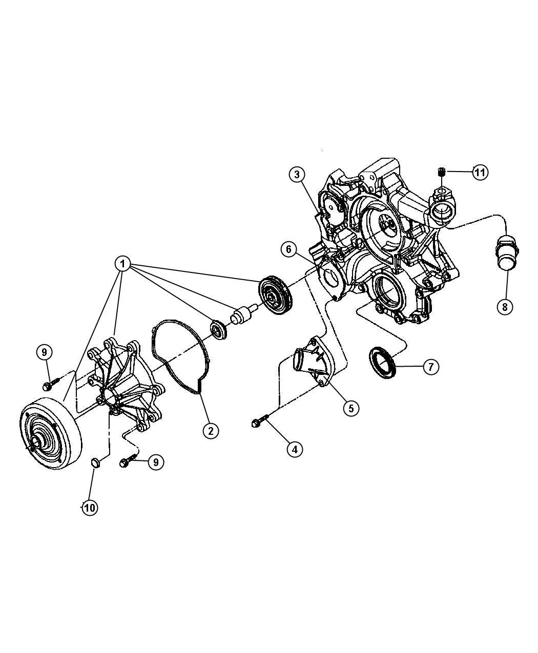 2006 jeep commander heater hose diagram