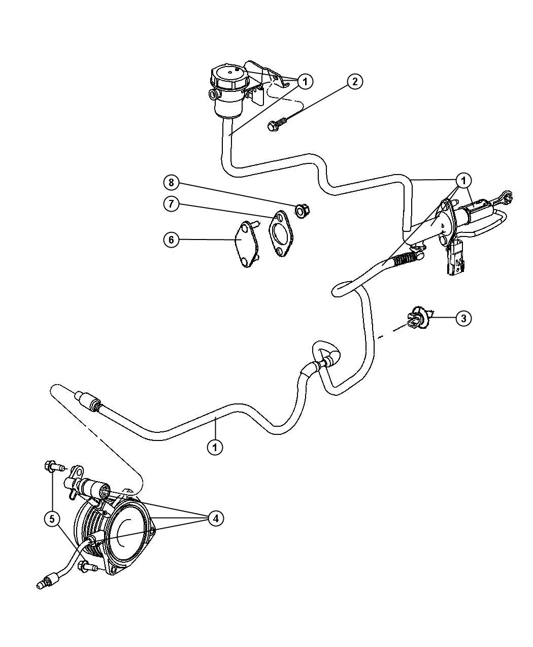 Mopar Transmission Linkage Diagram on 221469982588