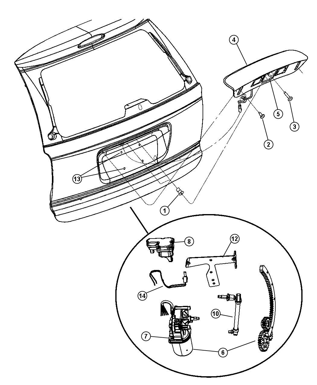 service manual  2005 dodge grand caravan liftgate panel removal