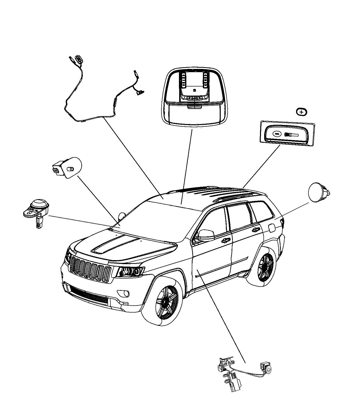 1996 jeep zj grand cherokee parts diagram