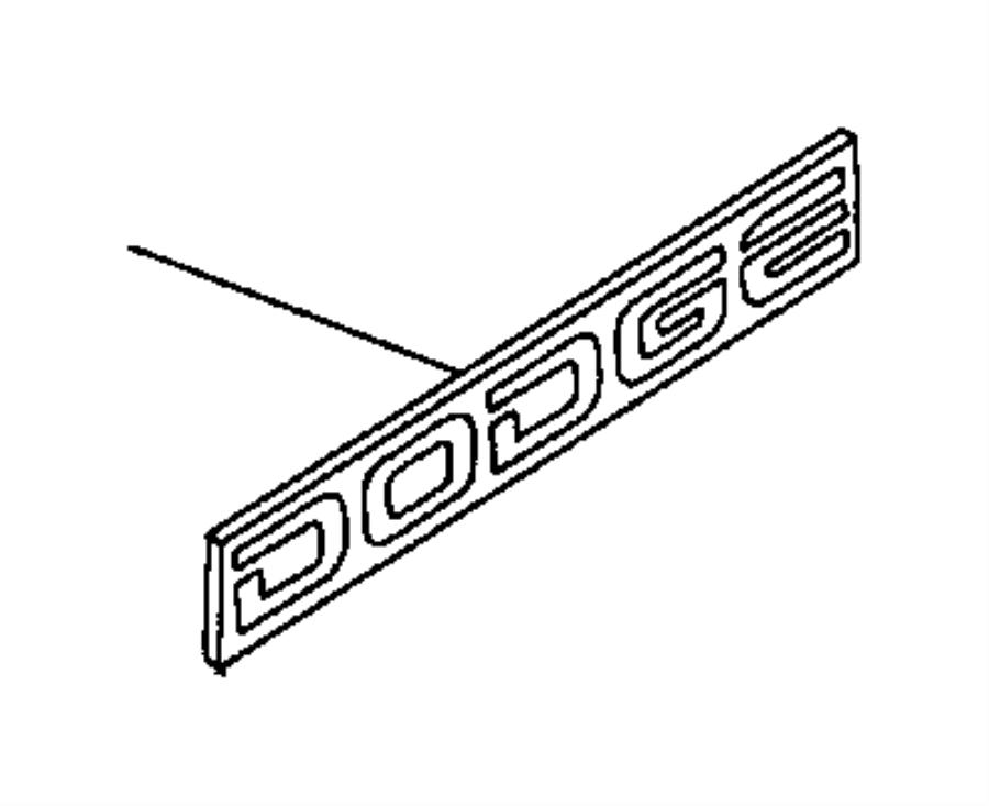 1995 dodge dakota tape stripes and decals n body  except sport